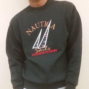 "Black Nautica ""Sails Competition"" Sweater/Pullover"